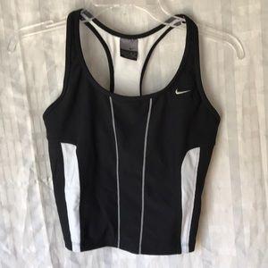 Nike running fitness tank top tee Sz 4-6